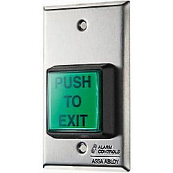 Alarm Controls Corporation ACOTS-2T 2IN SQ GRN ILLUMINATED PUSHBUTTON/TIMER