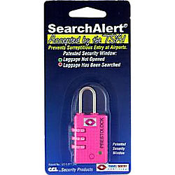 CCL 74708 TRAVEL LOCK SEARCHALERT PINK (K7470PFP)