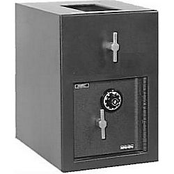 AMSEC DST2014K TOP LOAD DROP SAFE KEYED 87LB