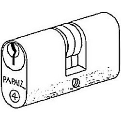 PAPAIZ C410/55KD BRASS T TURN CYLINDER