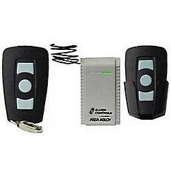 Alarm Controls Corporation ACORT-1 TWO WIRELESS TRANSMITTERS AND RECEIVER