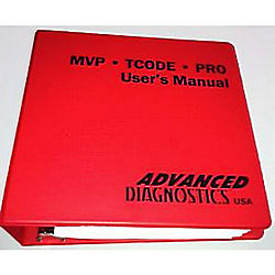 ADVANCED DIAGNOSTICS MANUAL BT 2015 2015 MANUAL WITH BINDER AND TABS