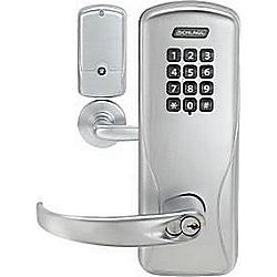 SCHLAGE CO200-MS70KP-SPA626 LD STANDALONE MORTISE KEYPAD RIGHTS ON LOCK