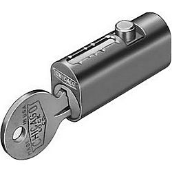 COMPX CEXP-19DC-KD PIN FILE LOCK 1-33/64IN