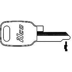 ILCO HD26-ISO HONDA MOTORCYCLE KEY