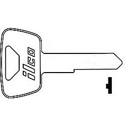 ILCO HD49-ISO HONDA MOTORCYCLE KEY