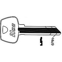 ILCO O1007CL-ISO SARGENT KEY 6278CL