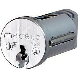 Medeco High Security Locks MED66W024556-26-G8S PLUG ONLY CAR WASH LOCK
