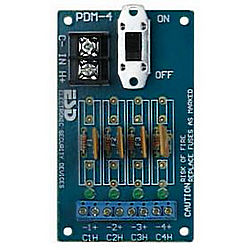 RUTHERFORD CONTROLS PDM-8C-ISO POWER DIST. MODULE 8-OUT PTC