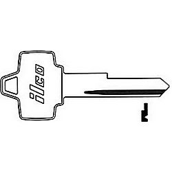 ILCO 1127MU FORD KEY 1127MP