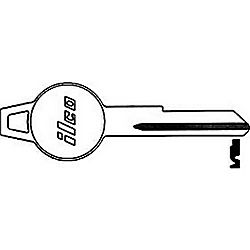 ILCO 1767DT CHRYSLER KEY