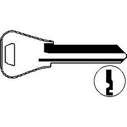ILCO L1054WB-ISO WEISER KEY 7-PIN