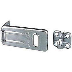 MASTER LOCK 702D CARDED HASP 2-1/2IN HARDENED STEEL