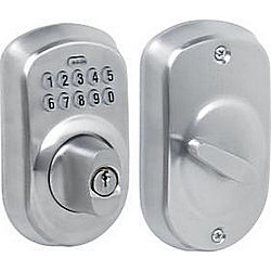 SCHLAGE LOCK BE365PLY626 KEYPAD DEADBOLT PLYMOUTH