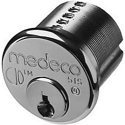 MEDECO MED10T0200-26 DWS CT-Z02 1-1/8IN MORTISE CYL M3 SLIDER INSTALLED