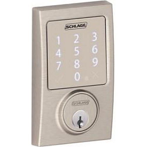 schlage electronic locks. SCHLAGE LOCK BE479AACEN619 SENSE KEYPAD DEADBOLT CENTURY | SecurityLocking.com Schlage Electronic Locks R