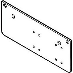 GLOBAL DOOR CONTROLS TACDP-4300-18AL DROP PLATE FOR CTP40