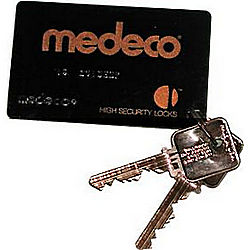 MEDECO MEDKY-GL-CARD-66 6 PIN BIAXIAL 2/KEYS