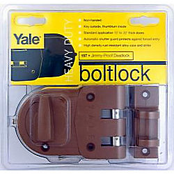 YALE V197 RIM DEADBOLT SINGLE CYLINDER