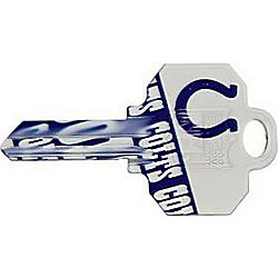 ILCO KW1-NFL-COLTS NFL TEAM KEY INDIANAPOLIS