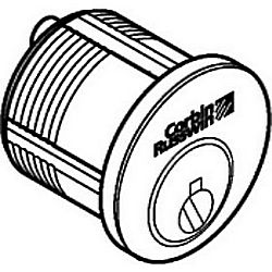 CORBIN RUSSWIN 1000-118-A01-6-59D1-613 MORTISE CYLINDER 1-1/8IN CLOVER CAM