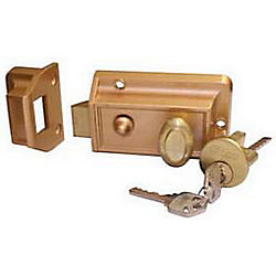 ILCO 220-53-51 NIGHT LATCH BRONZE VISUAL
