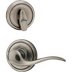 KWIKSET 730CHL11P-6ALRCS COMMONWEALTH PRIVACY LEVER G2