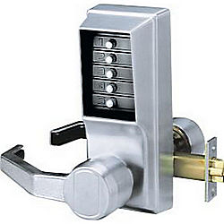 KABA LL103126D ENTRY PASSAGE LEVER LOCK NO KEY OVERRIDE