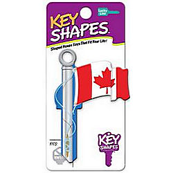 LUCKYLINE B128K-ISO KEYSHAPES CANADIAN FLAG KW1/11