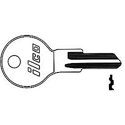 ILCO Z4-ISO GAS CAP LOCK KEY