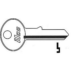 ILCO R1000HL-ISO CCL CABINET KEY 8673-CL
