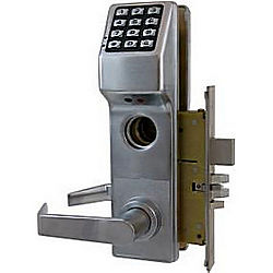 ALARM LOCK DL3500DBL/26D TRILOGY MORTISE KEYPAD W/ DEADBOLT LH