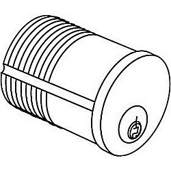 MARKS 2122/10B-1C-ISO MORTISE CYLINDER 15/16in SCH C
