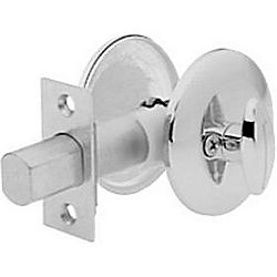 KWIKSET 667-26D-RCALRCS SINGLE SIDED W/EXTERIOR PLATE