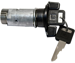 Strattec STR701409-ISO BLACK L CAR 91 IGNITION CYLINDER