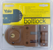 Yale Security Inc YALV197 1/4 RIM DEADBOLT DOUBLE CYLINDER