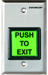 Seco-Larm SECSD-7202GC-PEQ ILLUMINATED PUSH-TO-EXIT BUTTON GREEN