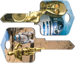 Howard Keys HOWSC1-SW6 C-3PO & R2-D2