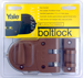 Yale Security Inc YALV197 RIM DEADBOLT SINGLE CYLINDER