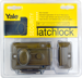 Yale Security Inc YALV80 RIM LATCH SINGLE CYLINDER