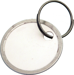 Luckyline Products LUK28400 1-9/16IN METAL RIM TAG W/RING 50/BX