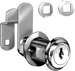 Compx Security Products COMC8060-KAC413A-3 DISC CAM LOCK 1-3/4 FLEXAFUNCTION