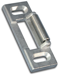 International Door Closers IDCST6312-AL STANDARD SURFACE ROLLER STRIKE
