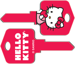 Howard Keys HOWSC1-SR3 HELLO KITTY RED