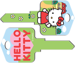 Howard Keys HOWSC1-SR6 HELLO KITTY'S HOUSE