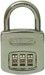 Abus Lock Company ABU160/40C RESETTABLE COMBO PADLOCK 3 DIAL 1-1/2IN