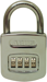 Abus Lock Company ABU160/50C RESETTABLE COMBO PADLOCK 4 DIAL CARDED
