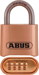 Abus Lock Company ABU180IB/50C SOLID BRASS RESETTABLE 4-DIAL