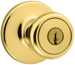 Kwikset Corporation KWI400T3-6ALRCS KA3 TYLO ENTRY KNOB G3 KA3
