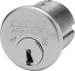 Medeco High Security Locks MED100200-W-26-B3S-Z02 MORTISE CYLINDER 1-1/8IN B3 KEYWAY